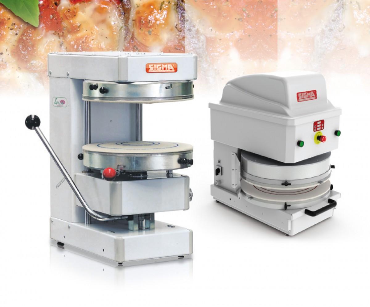 Maszyna do rozciągania ciasta model Sprizza